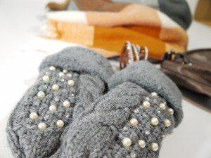 Ganz neu: Kuschlige Handschuhe, ein echter Hingucker!