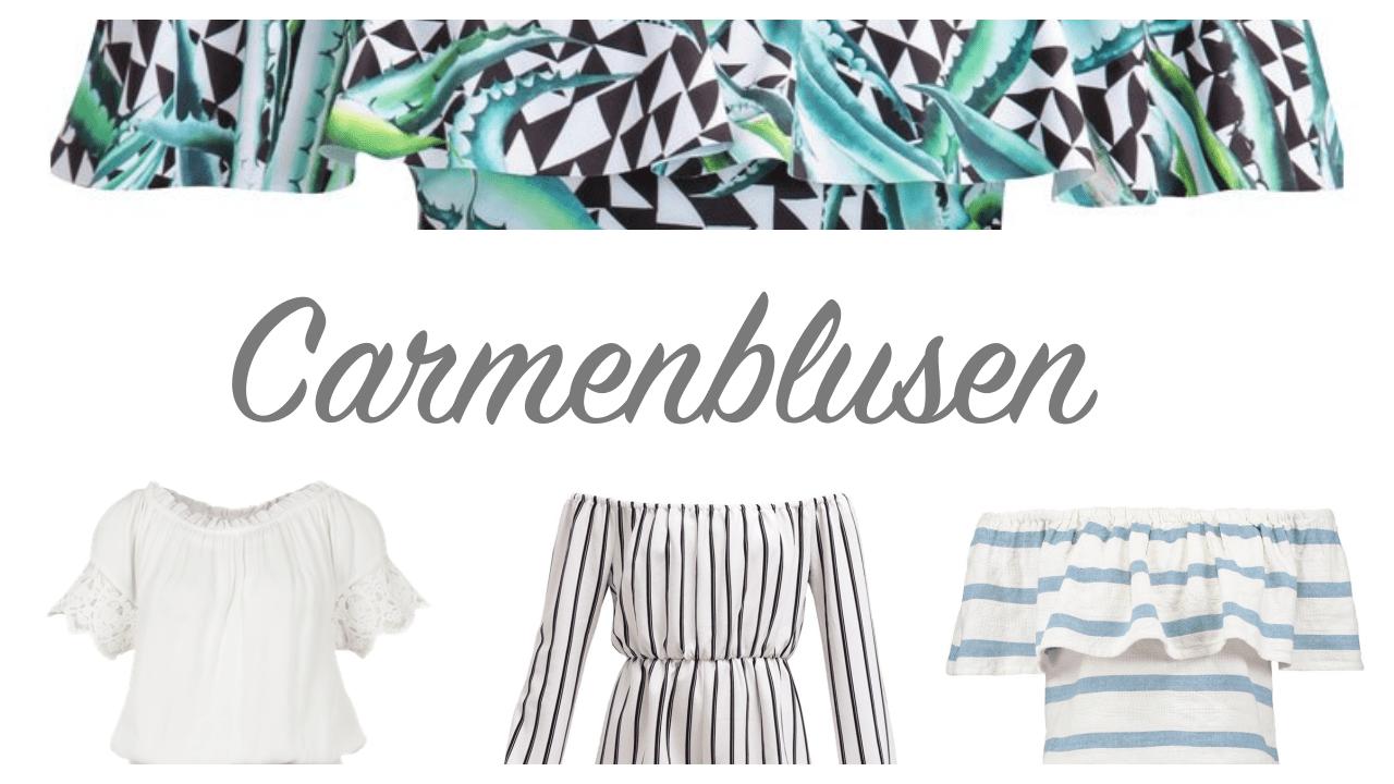 Carmenblusen, die schönsten Sommerblusen zum Shoppen