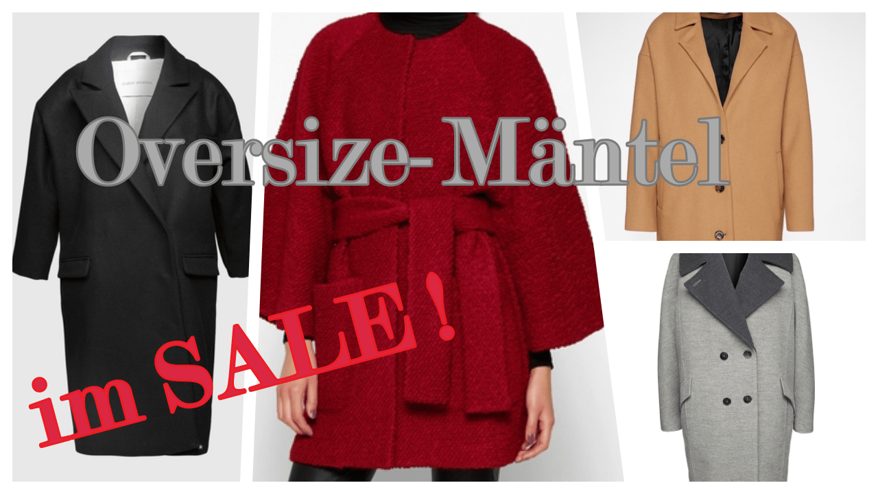 Oversize Mantel – jetzt im Sale