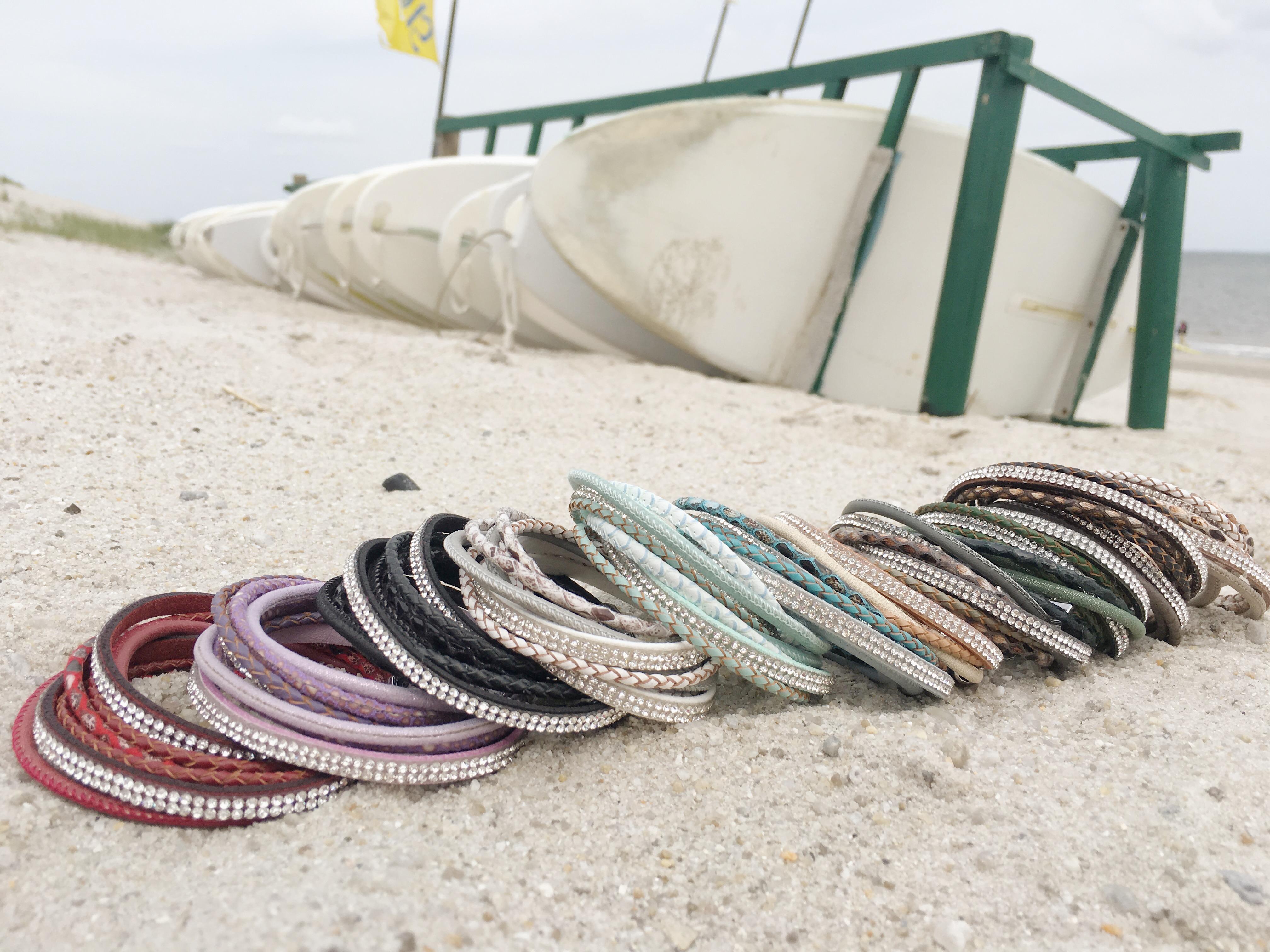 Unsere neuen Sommer Wickelarmbänder sind da!