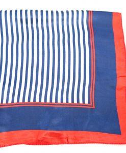 Halstuch STreifen blau weiß rot