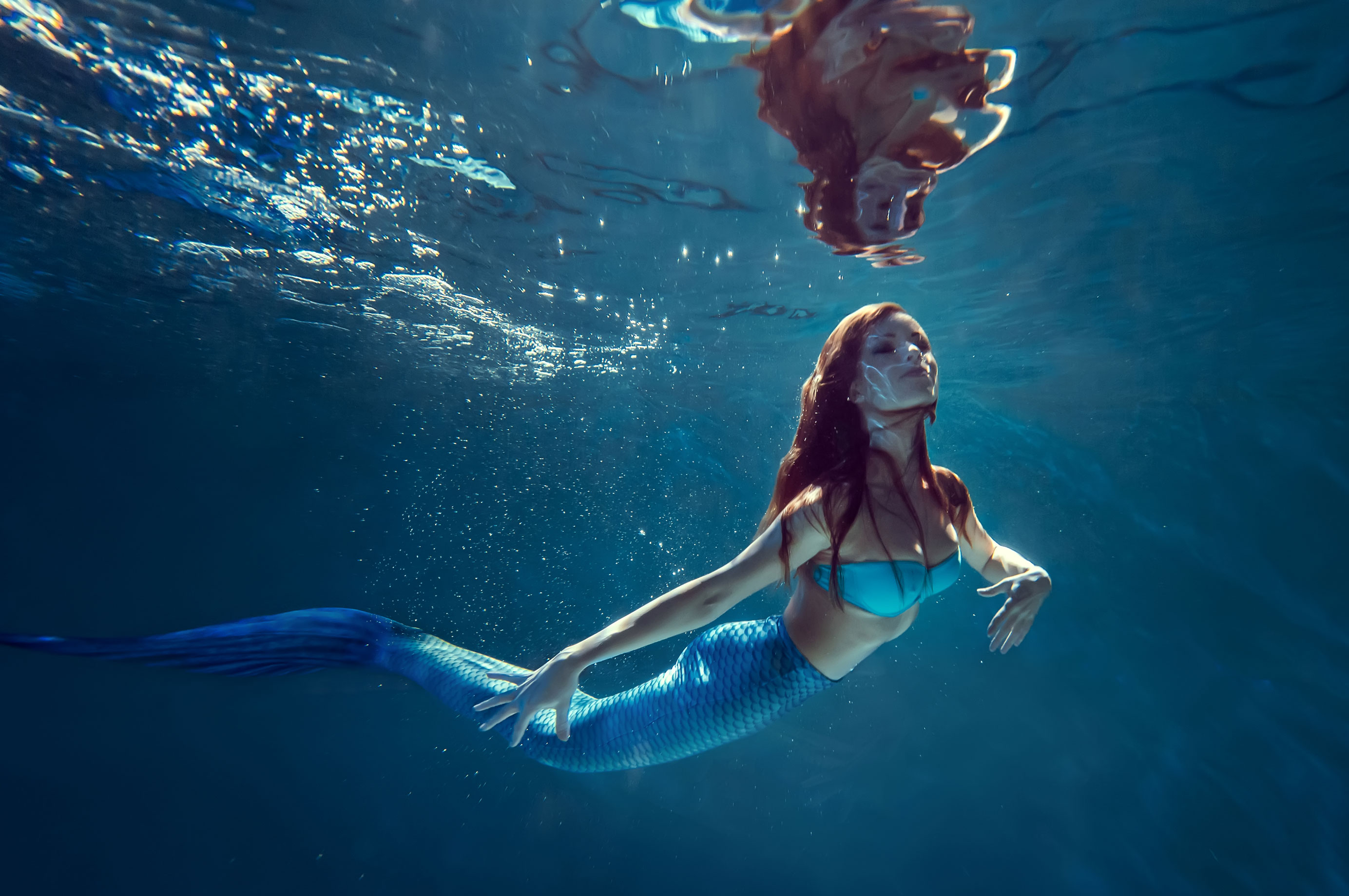 Jetzt können wir endlich eine Meerjungfrau sein!