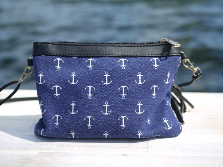 Maritime Handtasche Anker