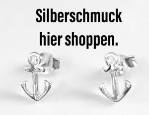 Silberohrringe Anker